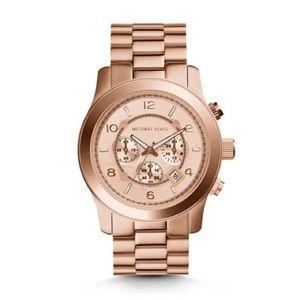 Michael Kors Rosegold Runway Chronograph Watch